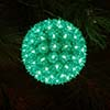 A Green Sphere Decoration